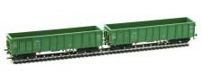 Albert Modell 500003 PSZ offene Güterwagen-Set 2-tlg Ep.6