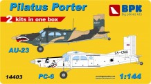 BPK 14403 Pilatus AU-23 and PC-6 Porter (2in1 Kit)