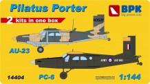 BPK 14404 Pilatus AU-23 and PC-6 Porter (2in1 Kit)
