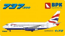 BPK 7203 Boeing 737-200 British Airways
