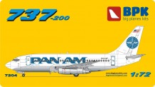 BPK 7204 Boeing 737-200 PanAm