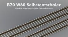 ZEITGEIST-Models 610000 B70 W60 Betonschwellengleis 87,5 cm