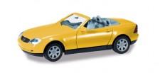 Herpa 012188-005 MiniKit MB SLK Roadster gelb
