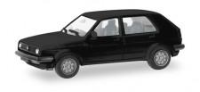 Herpa 012195-007 MiniKit VW Golf II 4t schwarz