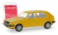 Herpa 012195-008 MiniKit VW Golf II 4t verkehrsgelb