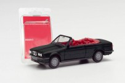 Herpa 012225-006 MiniKit: BMW 3er E30 Cabrio schwarz