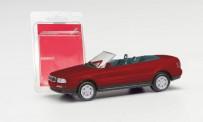 Herpa 012287-006 MiniKit: Audi 80 Cabrio weinrot
