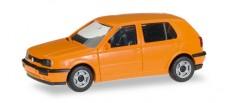 Herpa 012355-006 MiniKit VW Golf III 4türig orange