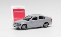 Herpa 012416-008 MiniKit: BMW 3er Lim. E46, silbergrau