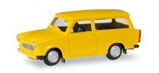 Herpa 012942 MiniKit Trabant 601 Universal gelb