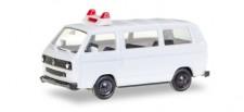 Herpa 012966 MiniKit VW T3 Bus weiß