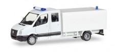 Herpa 013185 MiniKit VW Crafter mit Kofferaufbau weiß