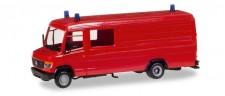 Herpa 013260 MiniKit MB T2 Vario (lang) rot