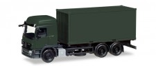 Herpa 013383 MiniKit MB Actros L Wechselkoffer-Lkw BW