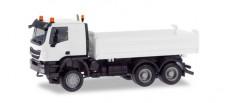 Herpa 013673 MiniKit Iveco Trakker Meiller Kipper