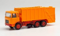 Herpa 013833 Minikit RD Pressmüllwagen, orange