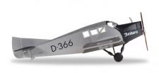 Herpa 019378 Junkers F13 Junkers Luftverkehr D-366