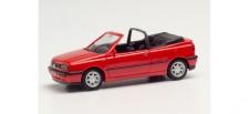 Herpa 021548-002 VW Golf III Cabrio rot