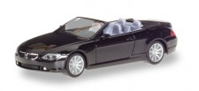 Herpa 023245-002 BMW 6er (E64) Cabrio schwarz