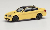 Herpa 023863-002 BMW M3 Coupé dakargelb
