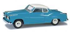 Herpa 024129-003 Borgward Isabella Coupe pastellblau