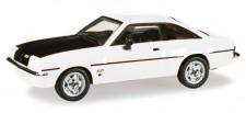 Herpa 024389-005 Opel Manta B weiß/schwarz