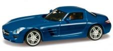 Herpa 024419-003 MB SLS AMG ultramarinblau