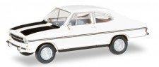 Herpa 024914-003 Opel Kadett B Coupe Rallye weiß/schwarz