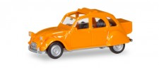 Herpa 027632-004 Citroen 2CV mit Queue orange
