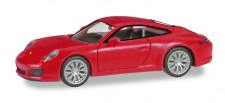 Herpa 028639-002 Porsche 911 Carrera 4S indischrot