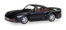 Herpa 028684 Porsche 959 schwarz