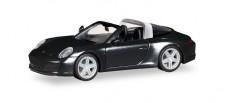 Herpa 028905 Porsche 911 Targa 4S schwarz