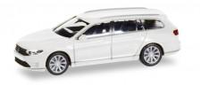 Herpa 028981 VW Passat Variant  GTE Hybrid weiß