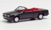 Herpa 030595-002 BMW 3er Carbio (E30) blacksaphir-met.