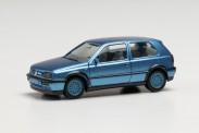 Herpa 034074-002 VW Golf III VR6 blaumet.
