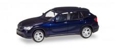 Herpa 034340-004 BMW X1 (E84) estorilblau
