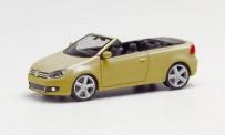 Herpa 034869-002 VW Golf IV Cabrio gold-met.