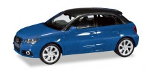 Herpa 034890-002 Audi A1 Sportback scubablau-met.