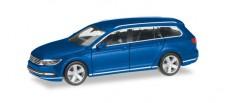 Herpa 038423-004 VW Passat Variant atlanticblau-met