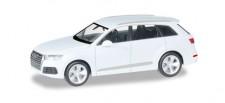 Herpa 038447-003 Audi Q7 gletscherweiß