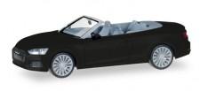Herpa 038768 Audi A5 Cabrio mythosschwarz
