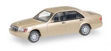 Herpa 038775 MB S-Klasse V12 (W140) champagner-met.