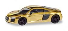 Herpa 038973 Audi R8 V10 Plus goldglänzend