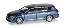 Herpa 038980 VW Passat Variant  GTE Hybrid havardblue