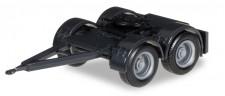Herpa 051453-002 Dolly für Hängerzug überlang schwarz