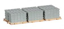 Herpa 053617 Ladegut Gehwegplatten auf Pallette