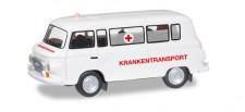 Herpa 066433 Barkas B1000 Bus Krankentransporte