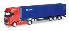 Herpa 066471 MB Actros GS 40ft Container-SZ NYK