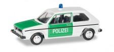 Herpa 066655 VW Golf I Polizei