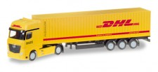 Herpa 066679 MB Actros GS 40ft C-SZ DHL